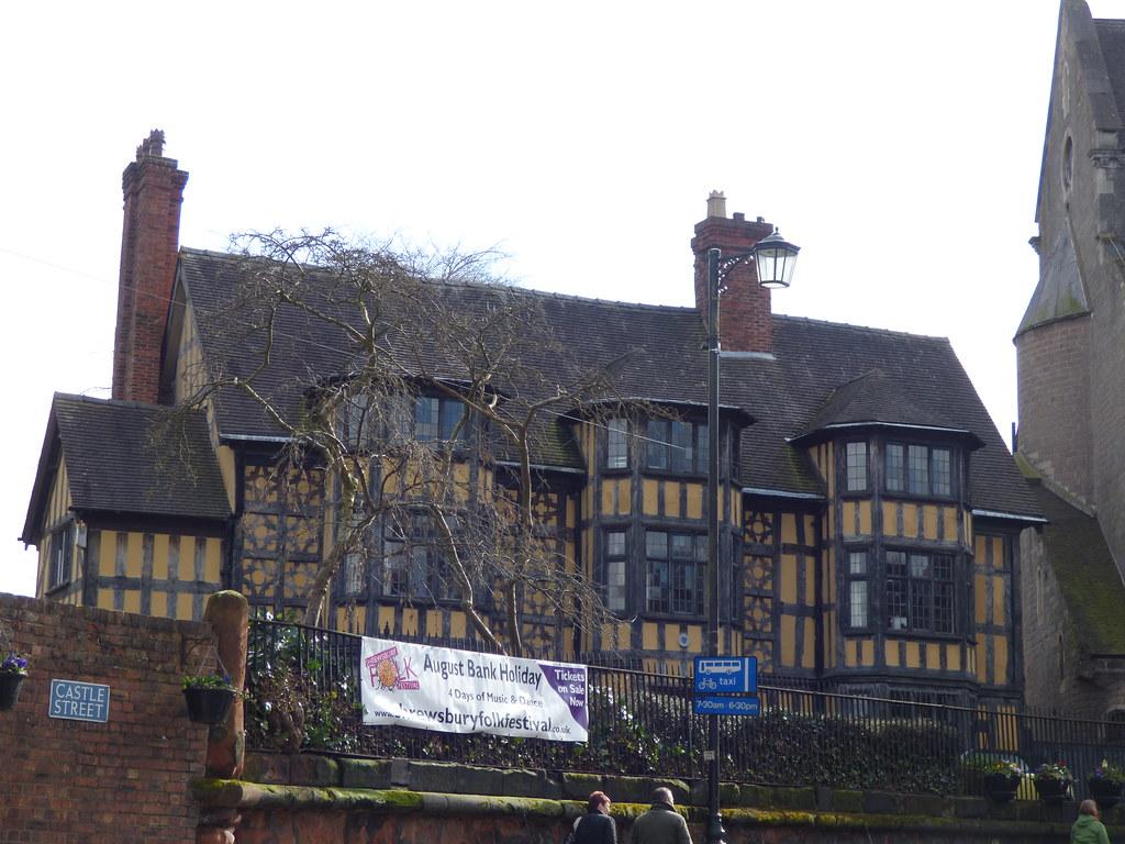 Castle Gates House Shrewsbury Castle Gates House In