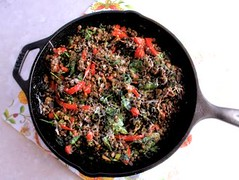 Lentils bake