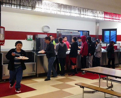 Children being served at the new CACFP At Risk Afterschool Meals-funded site on Pine Ridge
