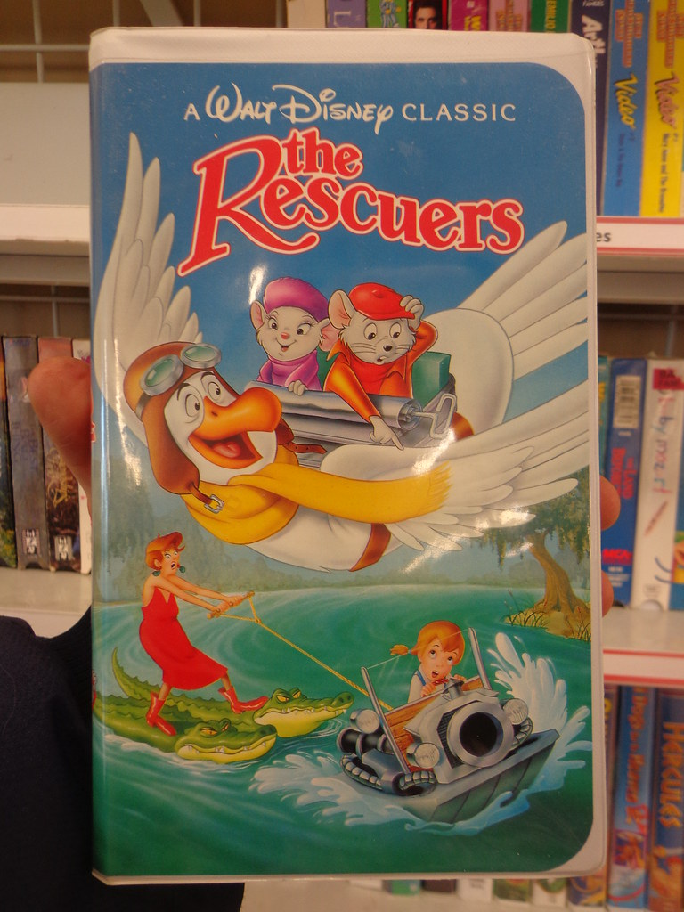 The Rescuers 1992 Vhs A Walt Disney Classic I Took