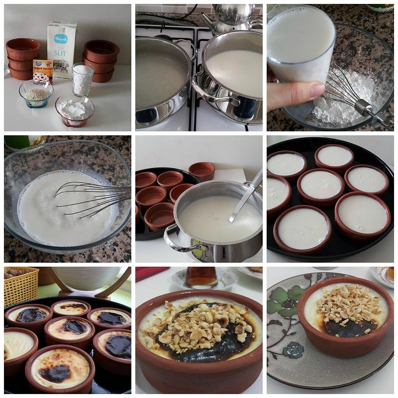 fırın sütlaç nasıl yapılır