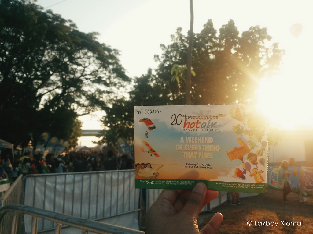 20th Hotair Balloon Fiesta | Lakbay Xiomai - Clark Field, Angeles, Pampanga - ticket
