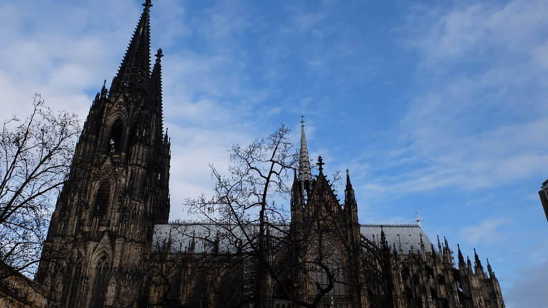 Impresionante catedral colonesa