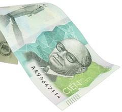 Billete de Cien mil pesos, Colombia