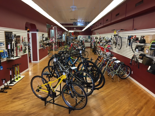 Pedal Power Middletown Bicycles Main Floor