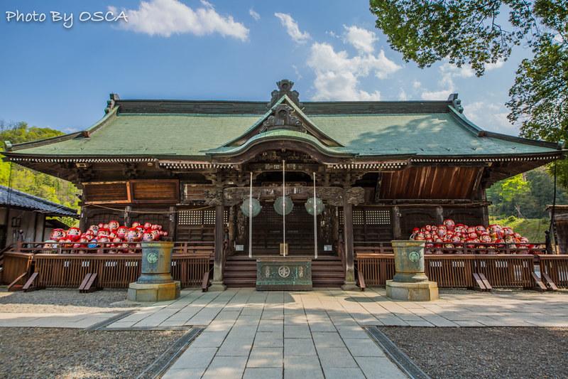 水曜どうでしょうのロケ地「少林山達磨寺」に行ってみた