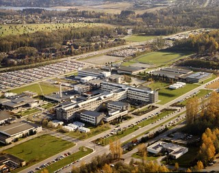 BCIT Burnaby 1984 aerial view