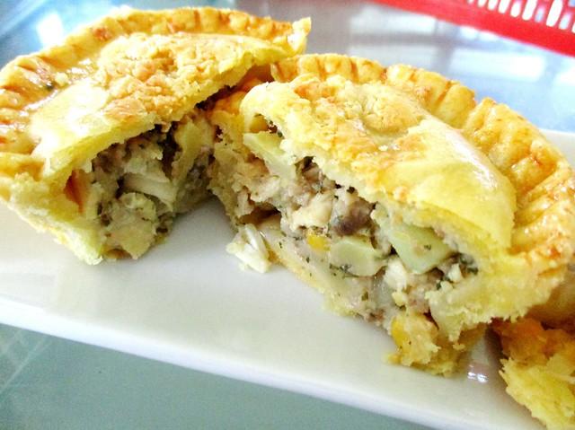 Chicken potato pie