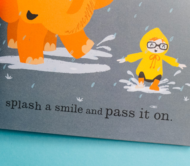 splash a smile and pass it on