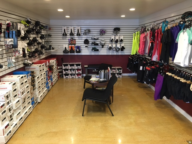 Pedal Power Essex CT Shoes and Clothing Section