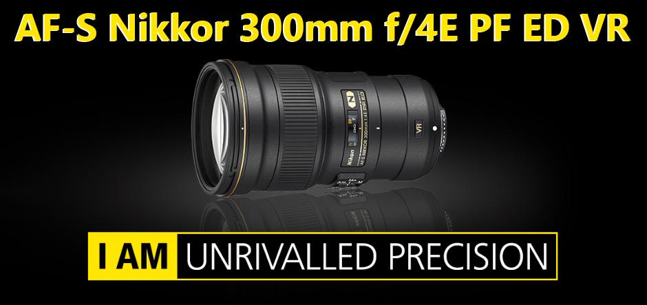AF-S Nikkor 300mm f/4E PF ED VR ir svarā viegls un kompakts objektīvs dabas fotogrāfam