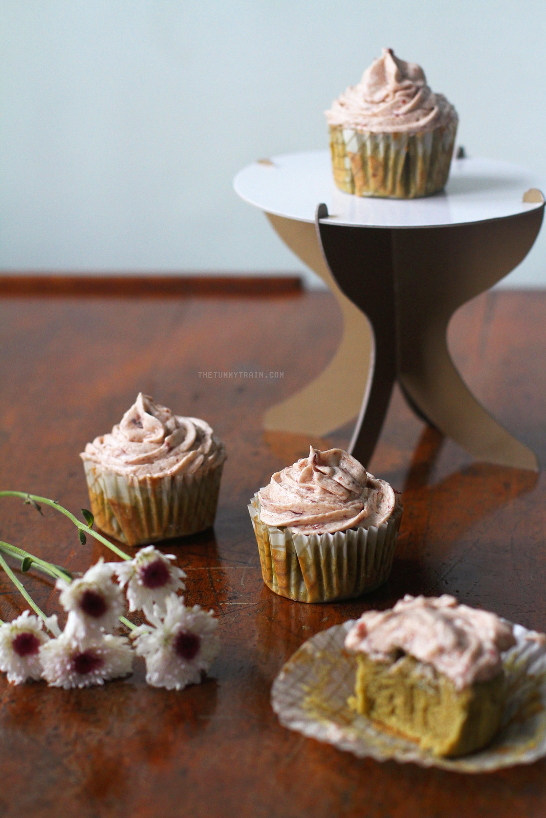 26745597105 f765a3db93 h - These Matcha Cupcakes with Red Bean Frosting sum up my sweet love [VIDEO]