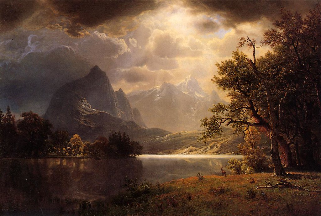 Estes Park, Colorado by Albert Bierstadt, 1869