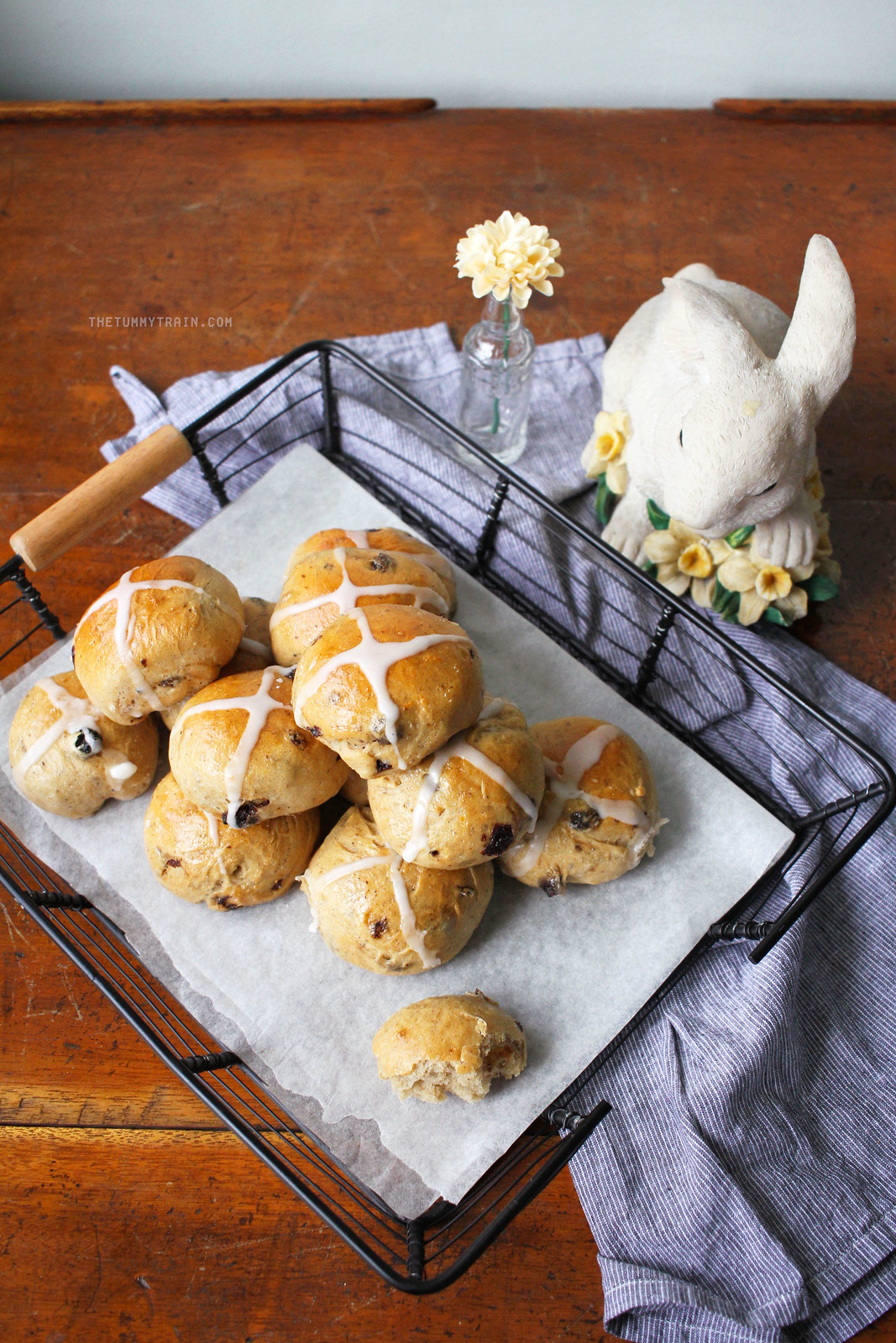 25856007745 7e5dcf3c03 h - Taking an Easter classic up a notch with Rum Raisin Hot Cross Buns and KitchenAid [VIDEO]