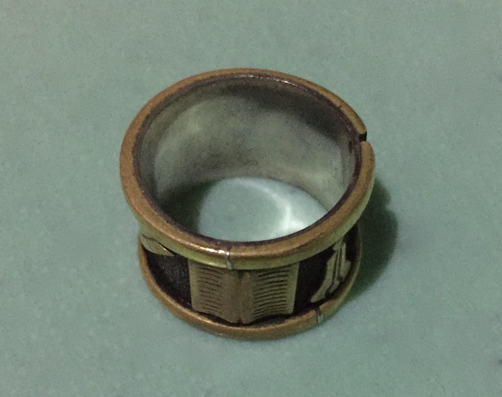 English Masonic Ring