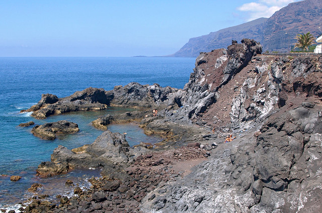 Rock pools, Puerto Santiago, Tenerife