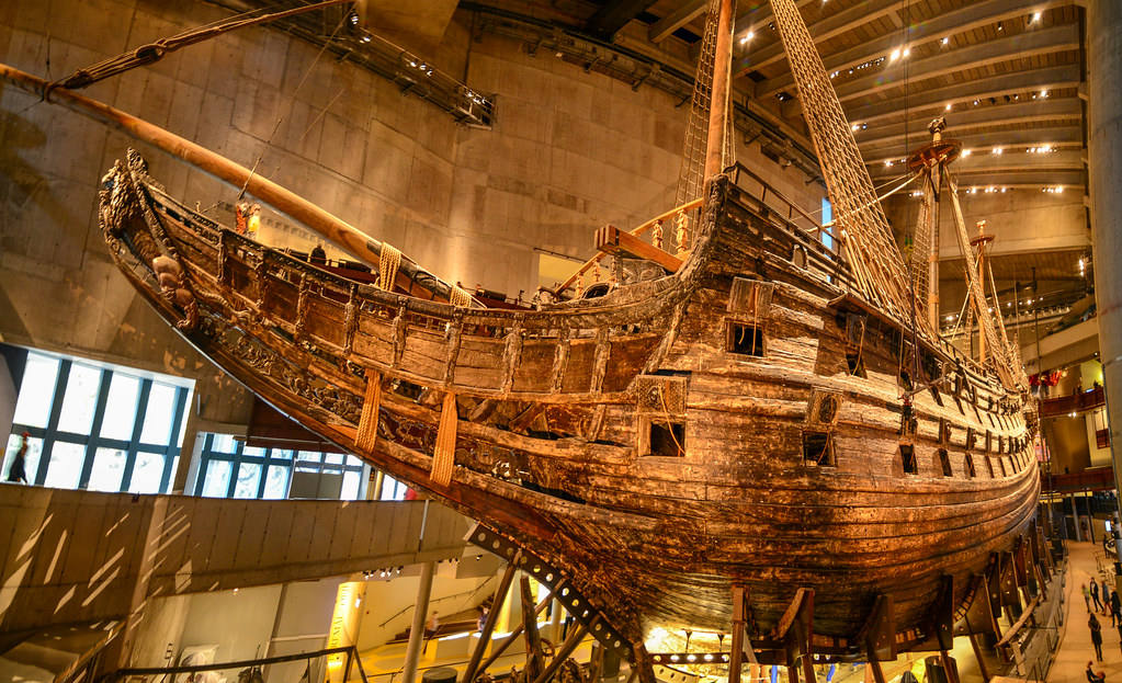 Panorama Of Quot Vasa Quot A Fully Intact 64 Gun Warship From The