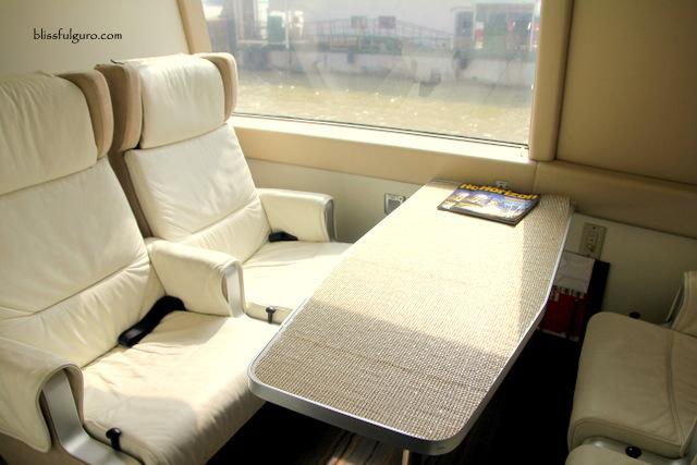 TurboJet Ferry Hong Kong Macau VIP Cabin