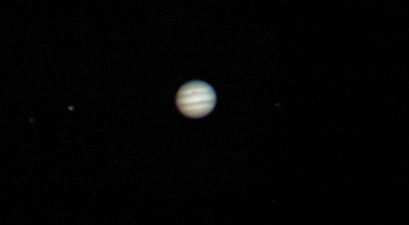 jupiter and its moons with white back - photo #5