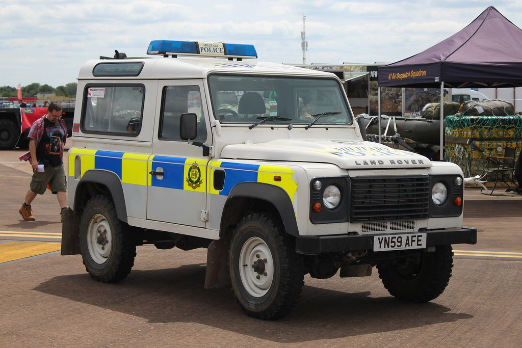 Royal Military Police Land Rover Defender Incident Respon