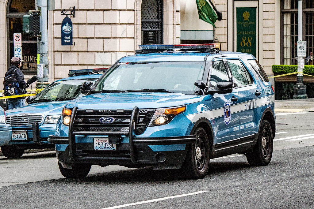 seattle police department ford police interceptor utility flickr. Cars Review. Best American Auto & Cars Review