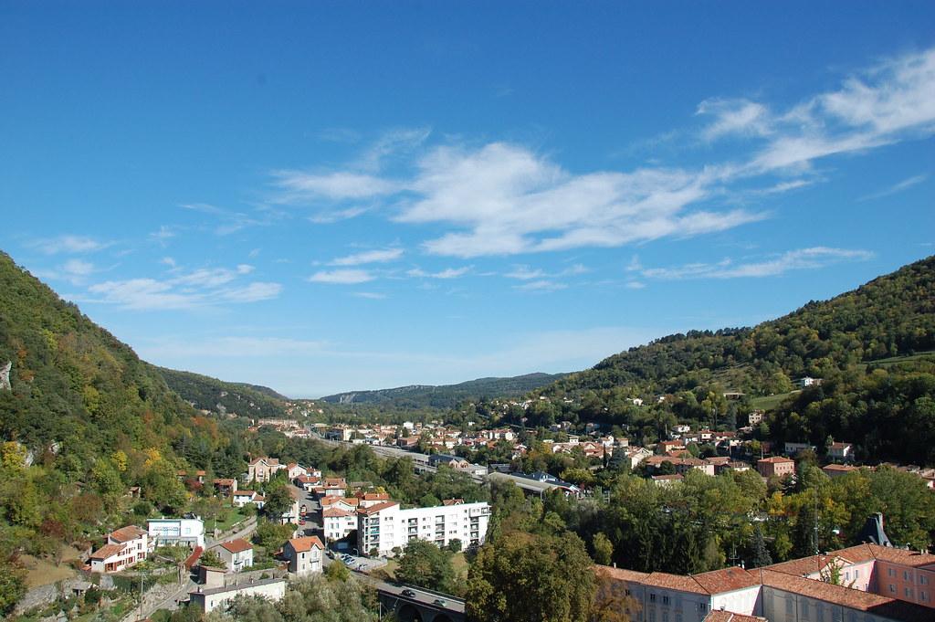 El Pueblo de Foix desde la torre Redonda