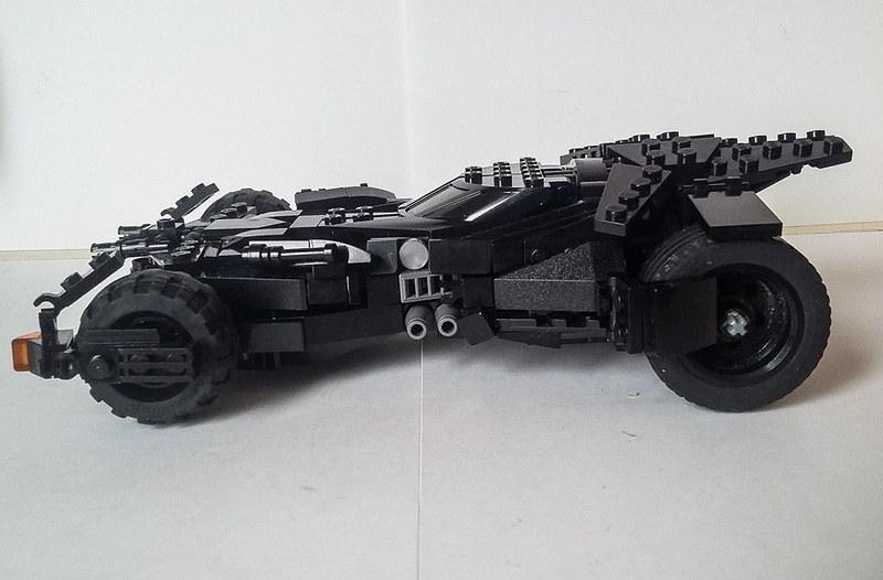 Moc Batman V Superman Batmobile Lego Licensed Eurobricks Forums