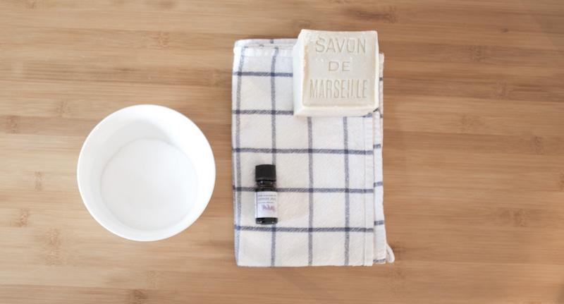 Matériel nécessaire pour faire de la lessive maison