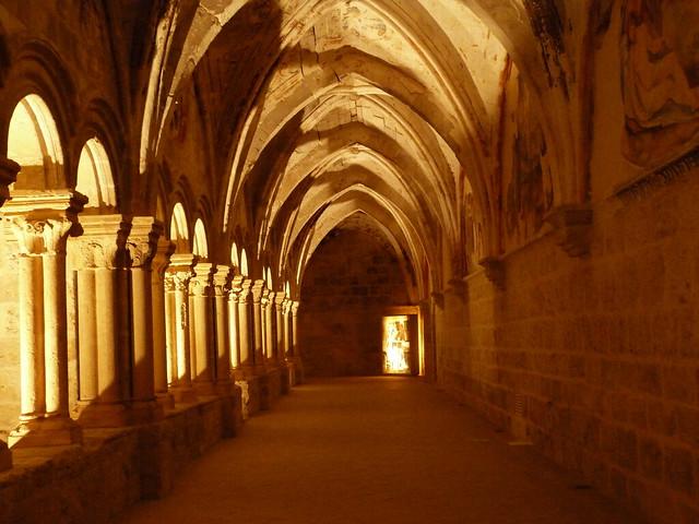 Claustro del Monasterio de Valbuena (Ribera del Duero, Valladolid)