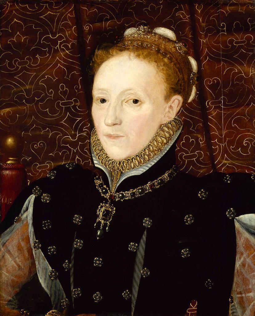 Elizabeth I by Hans Eworth, c. 1570. Current location: Denver Art Museum.