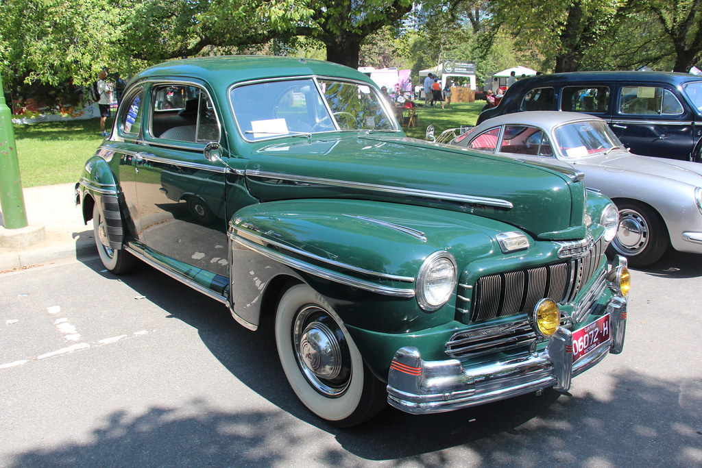 1946 Mercury 69m Eight Coupe Edsel Ford Introduced The