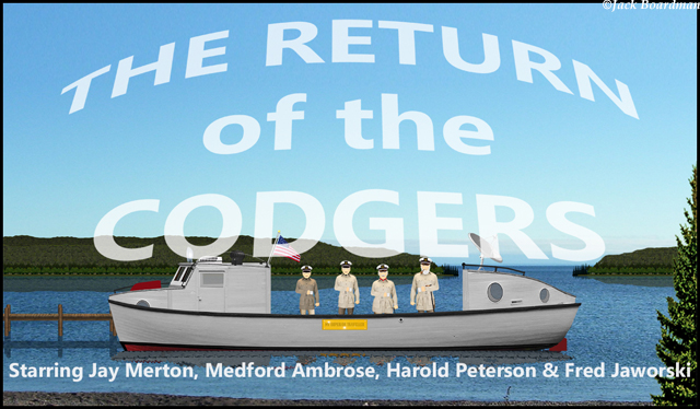 Codgers Return Banner ©Jack Boardman