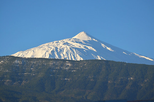 Snow, Mount Teide, February