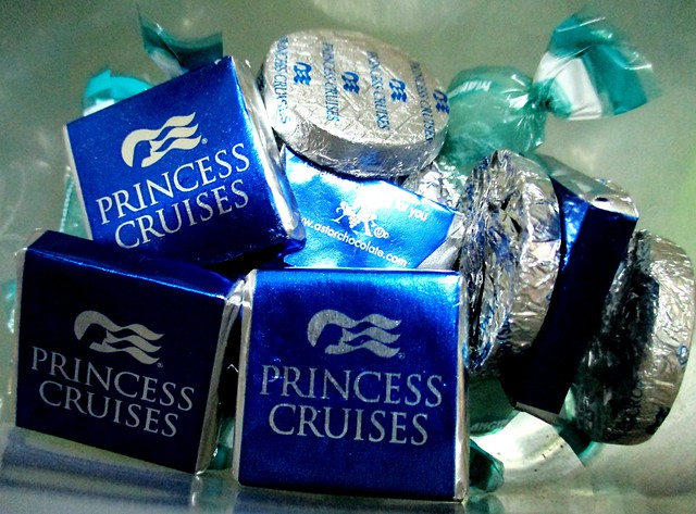 Cruise chocs and sweets