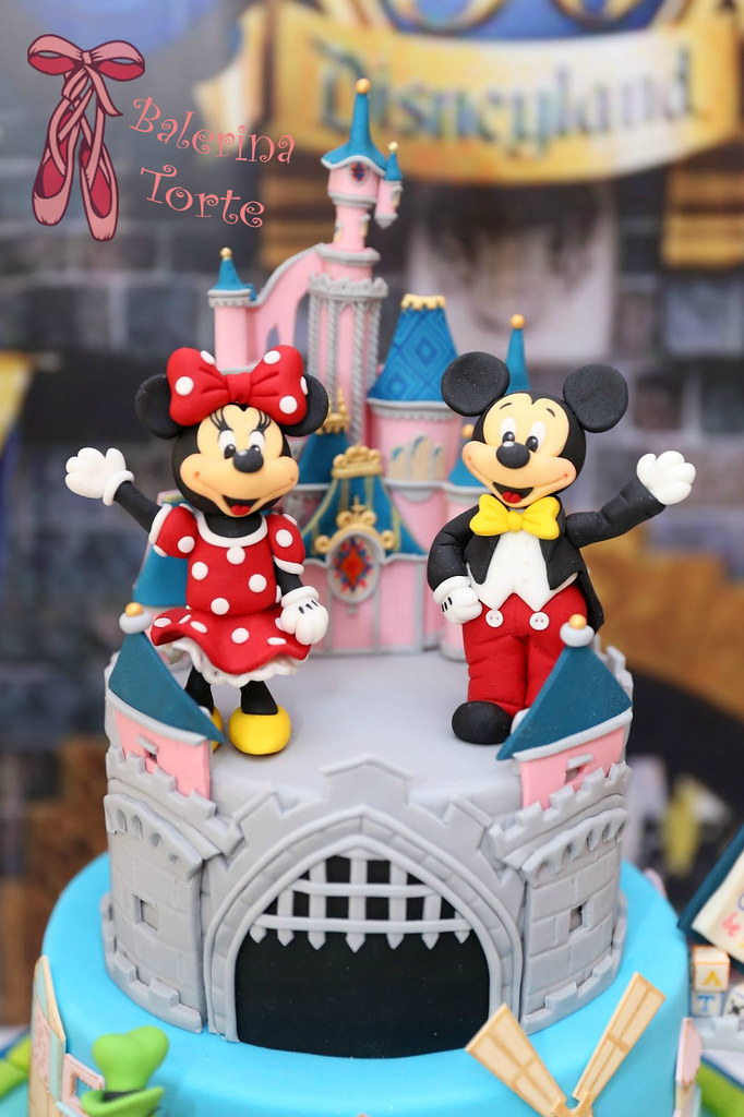 Disneyland Cake Diznilend Torta By Balerina Torte Jagodi