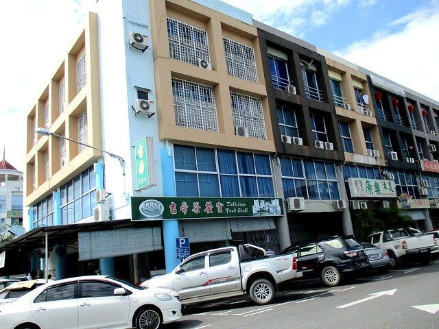 Block of shops