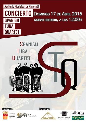Spanish Tuba Quartet Almoradí 2016