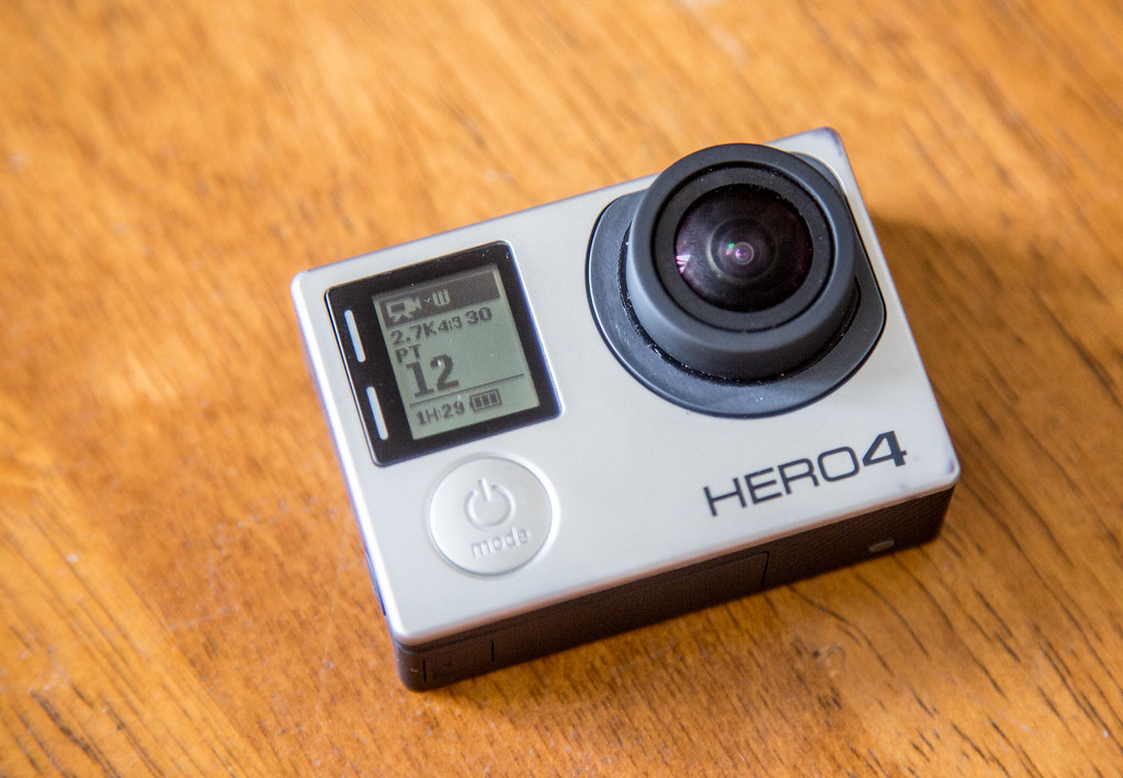 Changing the gopro camera settings for 360 filming complete for 2.7k at 30fps
