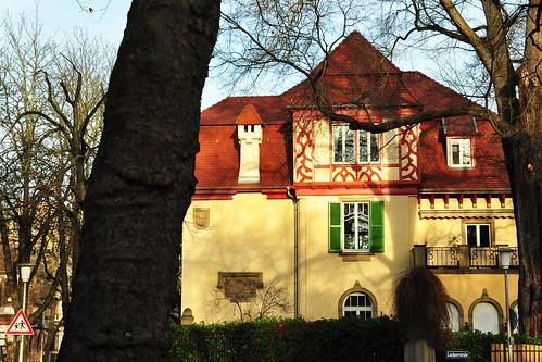 Mannheim Stadtteil Oststadt Gebäude Häuser Architektur Jugendstil Foto Brigitte Stolle Dezember 2015