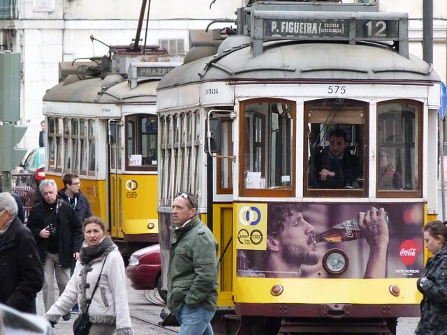 Tranvías de Lisboa (Portugal)
