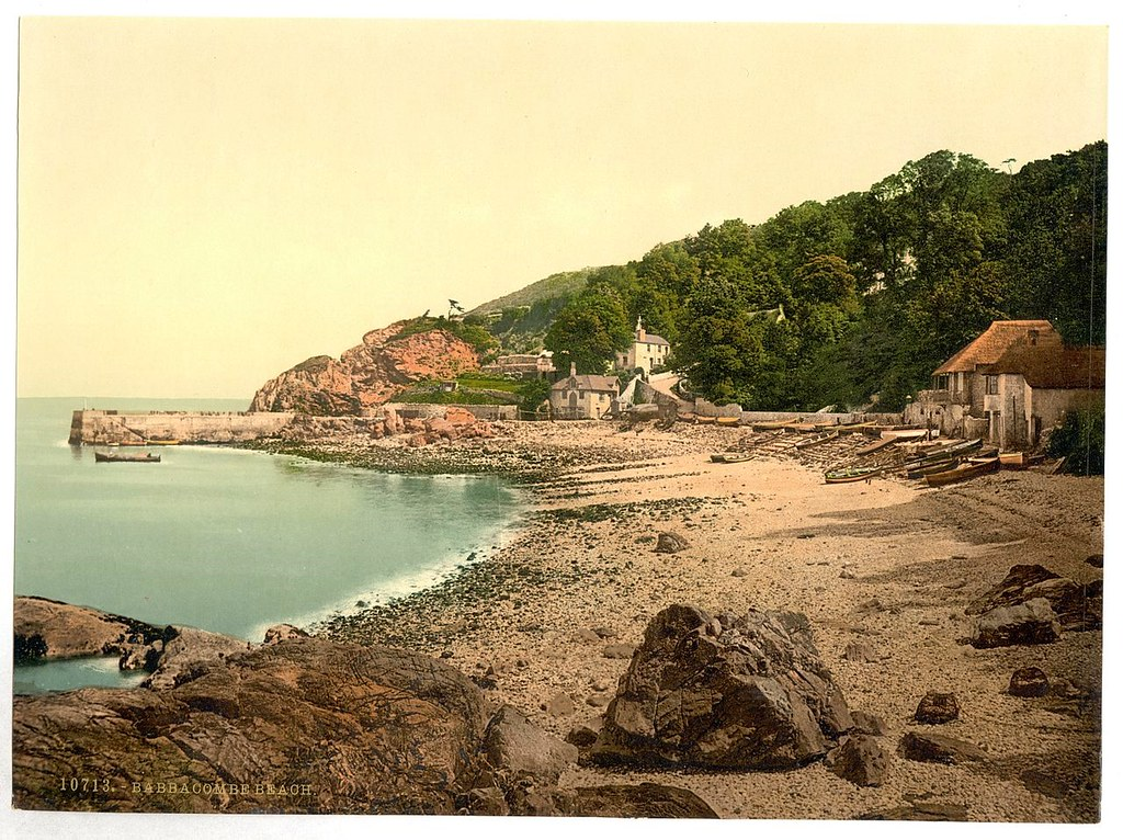 Babbacombe Beach, Torquay, Devon