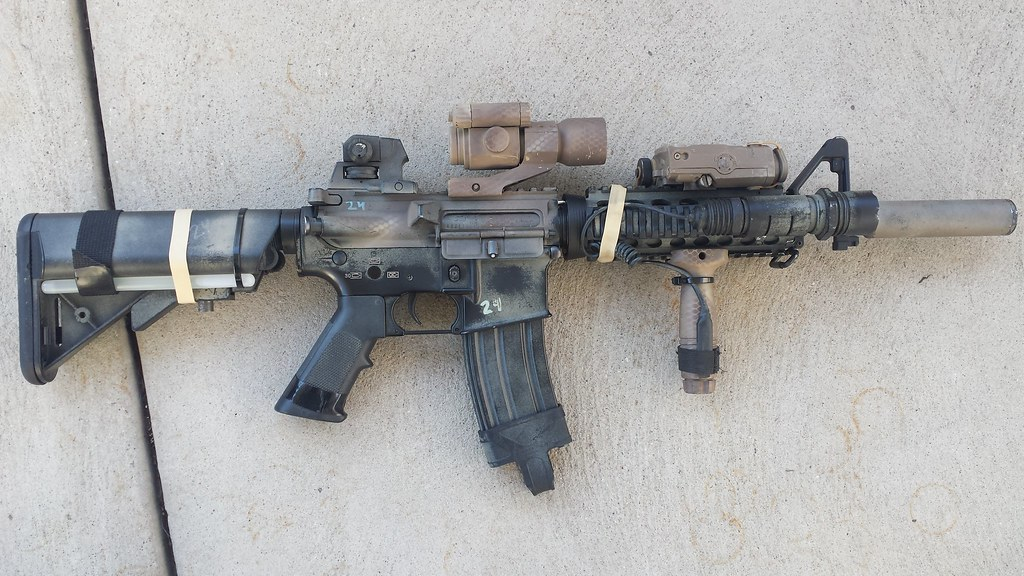 Special Force Rifle Paint Job