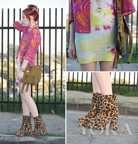 Plain one-piece dress collocation dazzling items