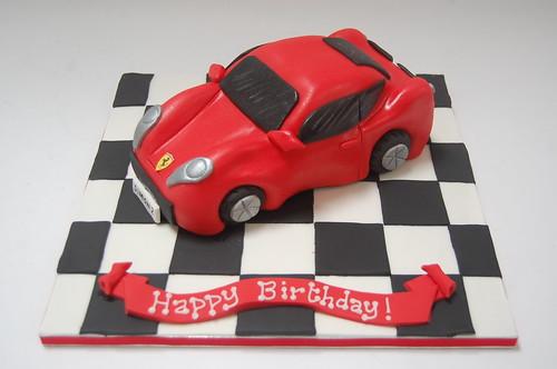 Fantastic Ferrari Cake Beautiful Birthday Cakes Funny Birthday Cards Online Aboleapandamsfinfo