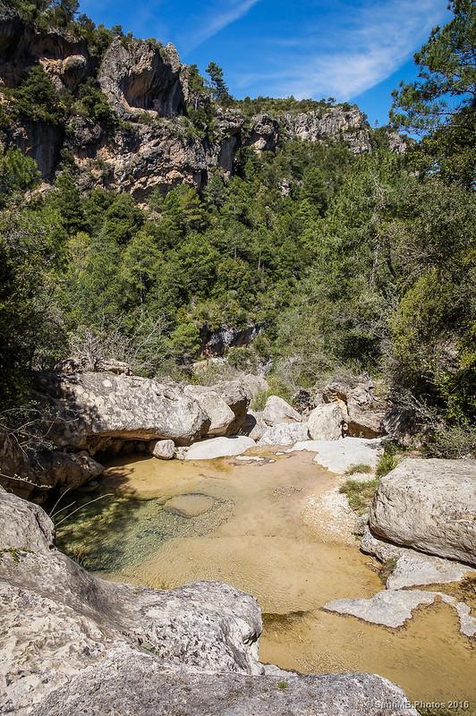 Algunos de los Gorgs de la Febró río abajo