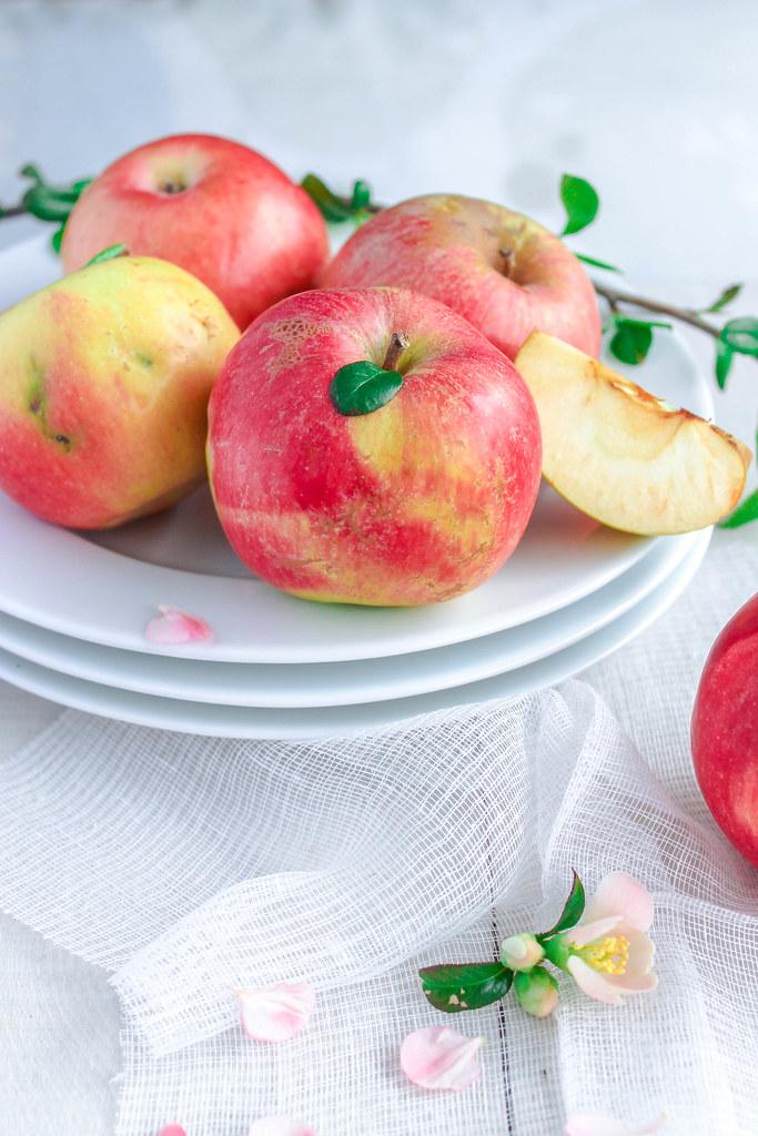 Tarte aux pommes de ma maman {vegan}