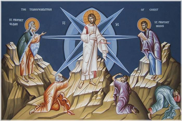 Ngày 06/08: Lễ Chúa Hiển Dung.