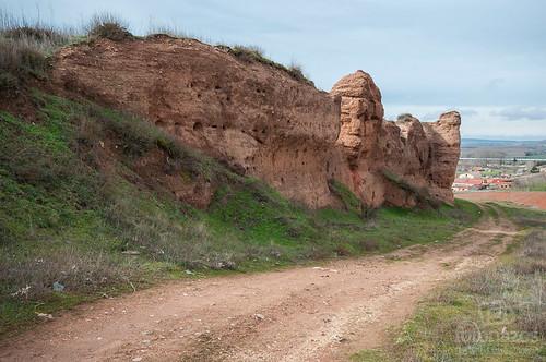 Los Paredones, la antigua muralla árabe de Ayllón
