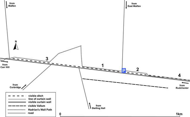 East Wall Houses minor car park map