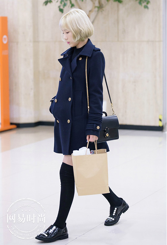 Significantly high secret watch SNSD for a coat in winter feet